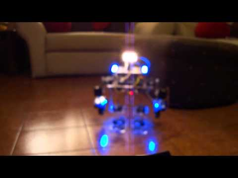 Humanoid Robot based on Arduino – YouTube