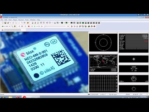 10Hz U-blox binary GPS data in 66 lines of code (arduino) – YouTube