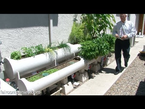 Internet of Farming: Arduino-based, backyard aquaponics – YouTube
