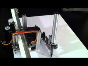 Live HTML5 Canvas Plotter on Arduino and MakerBeams – YouTube