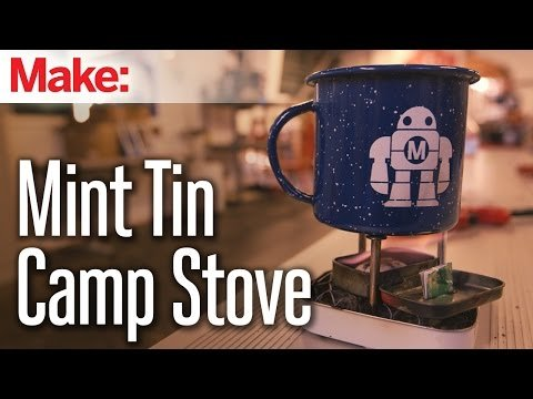 Mint Tin Backpacking Stove – YouTube