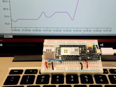 MKR1000 Temp and Humidity Sensor – Hackster.io