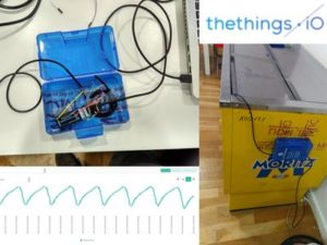 Monitor fridge with Arduino MKR1000 and thethings.iO – Hackster.io