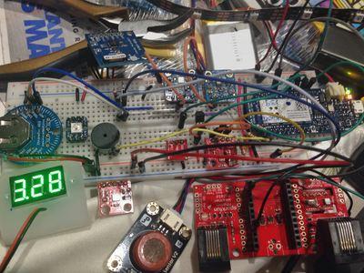 Multiple mode Environmental Sensor Deck with MKR1000 – Hackster.io