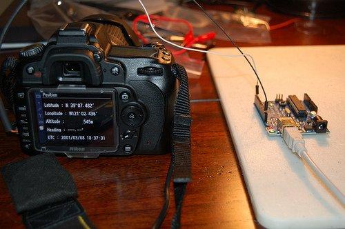Arduino Nikon D90 Homemade GPS