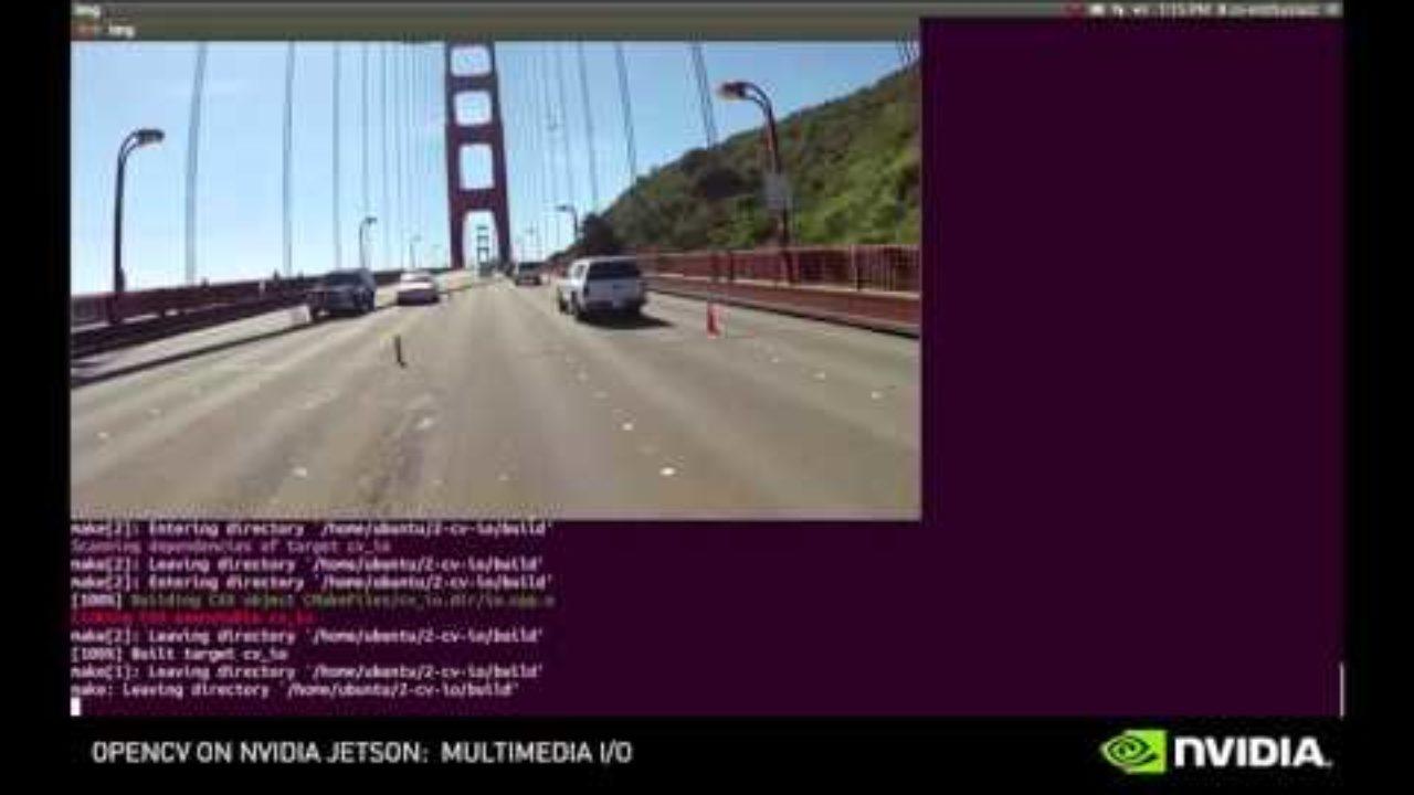 NVIDIA Jetson OpenCV Tutorials - Episode 2 - YouTube