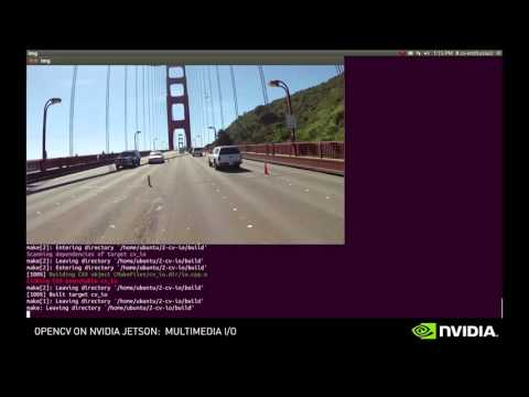 NVIDIA Jetson OpenCV Tutorials – Episode 2 – YouTube