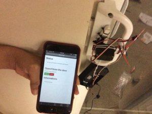 Open Sesame System – Open/Close door lock with Smartphone – Hackster.io