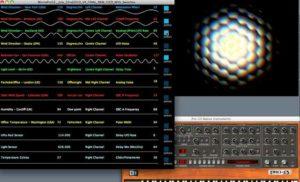 Pachube Processing Apple Motion MIDI Pro-53 on Vimeo