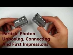 Particle Photon Unboxing, Connecting And First Impressions – YouTube