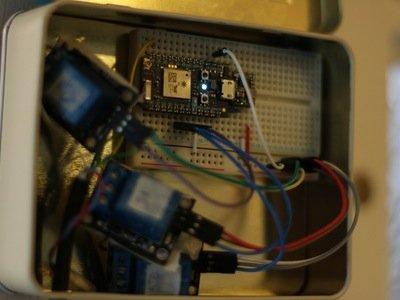 Photon Powered Communal Door – Hackster.io