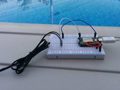 Pool temperature monitor – Hackster.io