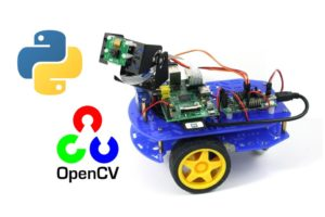 Programming a Raspberry Pi Robot Using Python and OpenCV