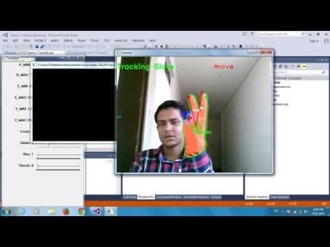 Project 1 :Mouse Control By Hand Gesture Tracking Using Opencv and C++ – YouTube