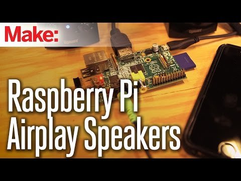 Raspberry Pi Airplay Speaker – YouTube
