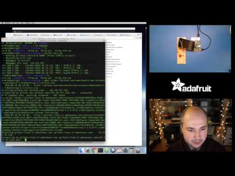 Raspberry Pi & Python Internet 'Thing' pt. 2 with Tony D! @adafruit #LIVE – YouTube