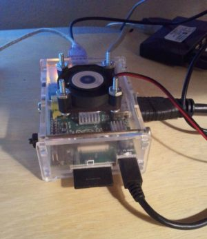 Raspberry Pi Case Fan