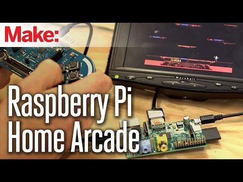 Raspberry Pi Home Arcade – YouTube