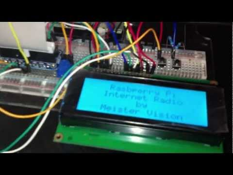 Raspberry Pi Internet Radio Tutorial (MPD + 20×4 LCD) – YouTube