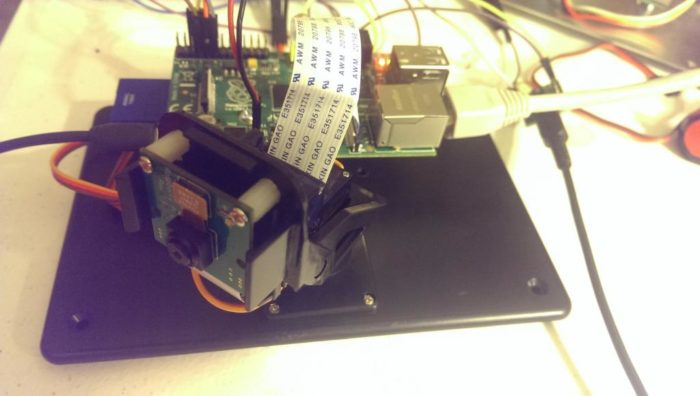 Raspberry Pi Motion Following Network Camera Project