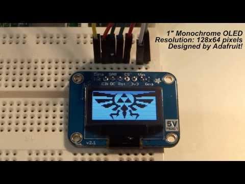 Raspberry Pi – OLED Displays! – YouTube