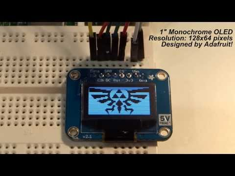 Raspberry Pi – OLED Displays! – YouTube