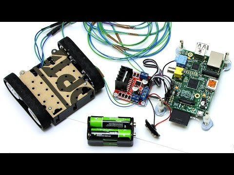 Raspberry Pi Robotics #2: Zumo Robot – YouTube