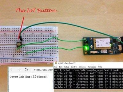 Restaurant Wait Timer Powered By AWS  using Intel edison