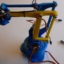 €20 robot arm controlled by arduino