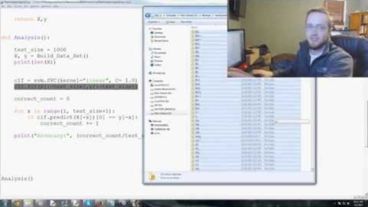 Scikit Learn Machine Learning Tutorial for investing with