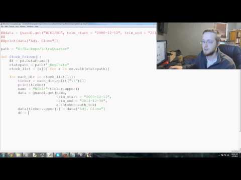 Scikit Learn Machine Learning Tutorial for investing with Python p. 17 – YouTube