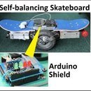Self-balancing skateboard/segw*y project Arduino Shield