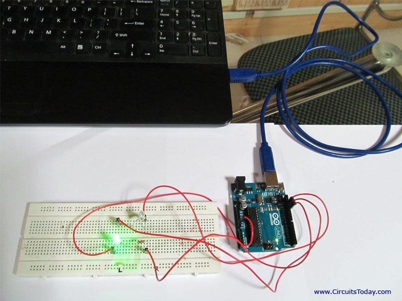 Simple LED based Projects using Arduino-with Circuit Diagram and Codes