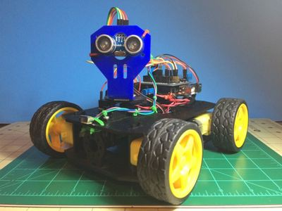 Simple multi-mode 4wd Rover JR-001 – Hackster.io