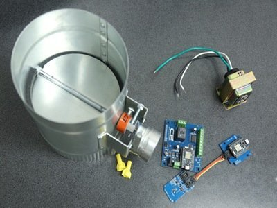 Smart Thermostat controlled HVAC Duct Damper – Hackster.io