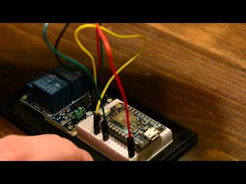 Smartphone Garage Opener Project – Internet of Things – YouTube