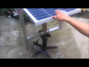Solar Tracker using an Arduino with Localhost Browser Based Power Monitoring – YouTube