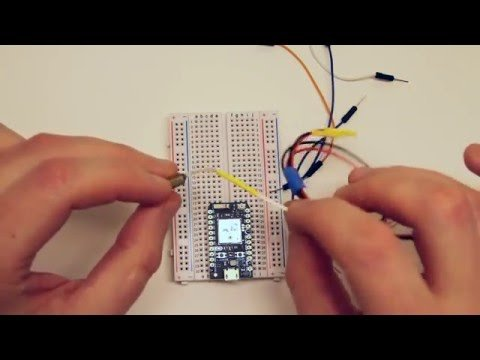 Temperature Logger with Particle Photon – YouTube