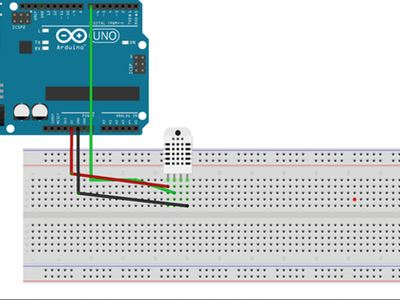 Temperature Monitoring With DHT22 & Arduino – Hackster.io