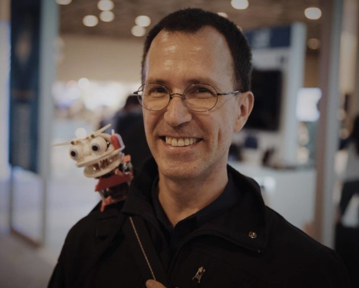 The Familiar: A Wearable Companion Robot | Intel Communities