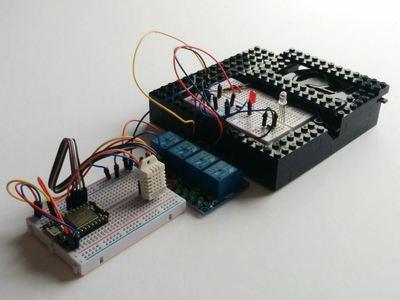 The Minimalist Thermostat – Hackster.io
