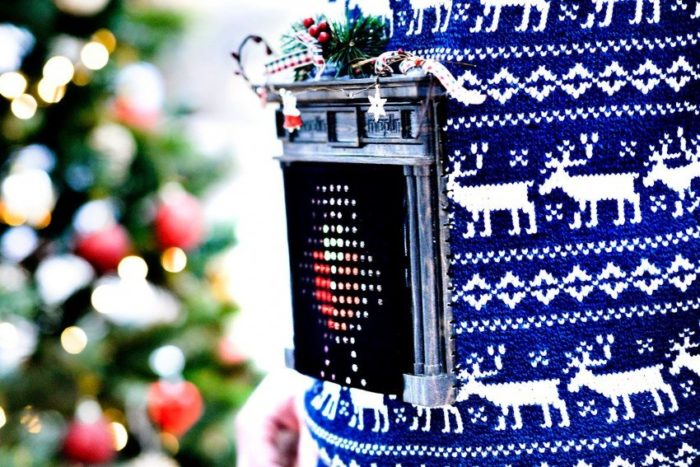 This is THE Epic Holiday Sweater #WearableWednesday « Adafruit Industries – Makers, hackers, art ...