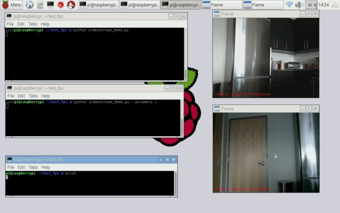 Unifying picamera and cv2.VideoCapture into a single class with OpenCV – PyImageSearch