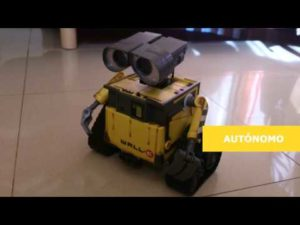WALL-E Robot Arduino (diymakers.es) – YouTube