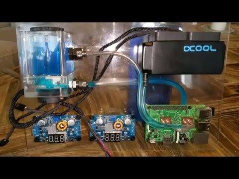 Watercooling the Raspberry Pi – YouTube