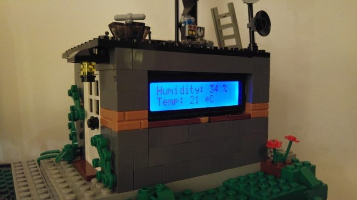 Weather Station – DHT11, MQTT, Node-RED, Google Chart, Oh My! – Internet of LEGO