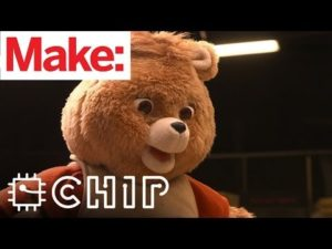 Weekend Project: Hack a Talking Teddy Bear with a $9 Computer – YouTube