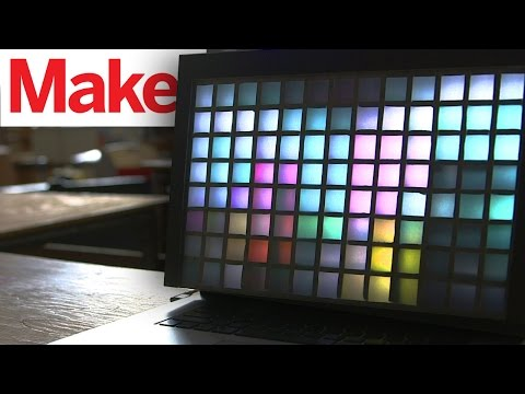 Weekend Project: Low-Pixel Display – YouTube