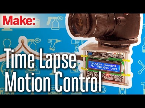 Weekend Project: Time Lapse Motion Control – YouTube