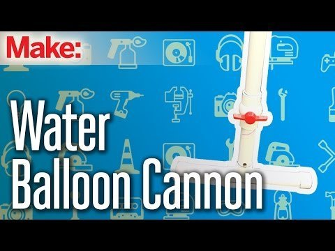 Weekend Project: Water Balloon Cannon – YouTube
